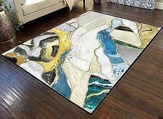 Large Area Runner Rug Movie Mat 3D Mural Wallpaper for Home Decor Resin geode and Abstract Art Non-Slip Floor Mat Doormats...