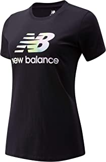 New Balance Women Essentials Soft Spectrum Graphic Tee Top