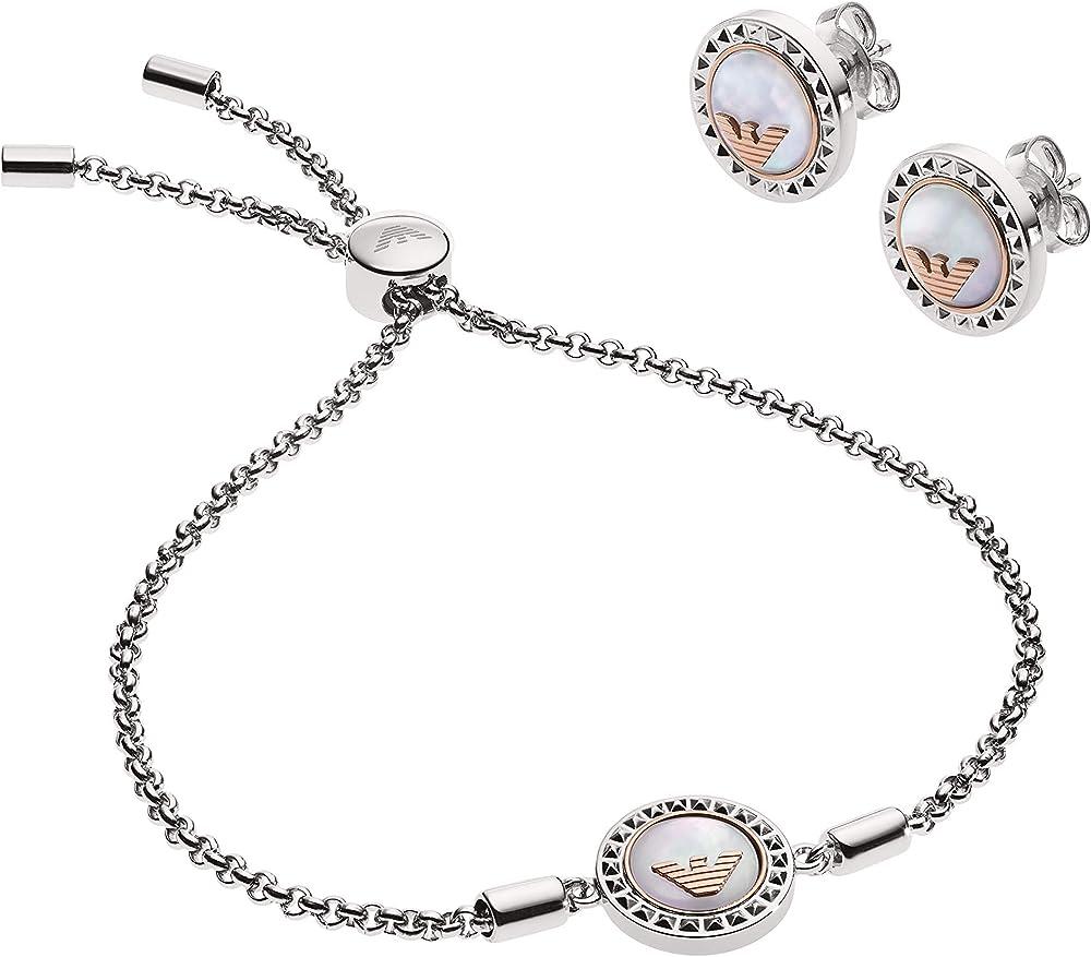 Emporio armani set gioielli donna EGS2652040