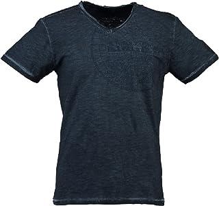 Geographical Norway Jimerable Men – Camiseta de manga corta para hombre – Camiseta moderna de manga corta – Cuello en V es...