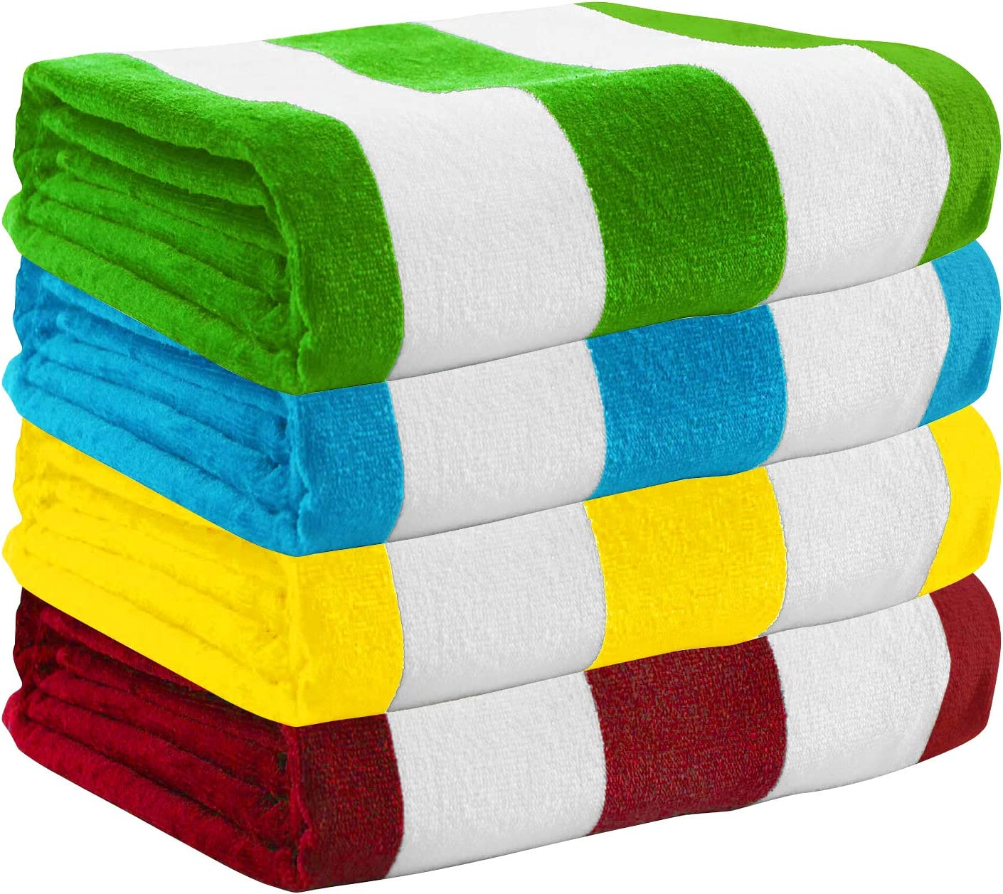 Exclusivo Mezcla 100% Cotton Oversized Large Beach Towel Sets