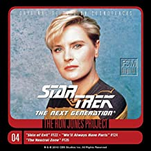 Star Trek: The Next Generation, 4: Skin of Evil/We'll Always Have Paris/The Neutral Zone