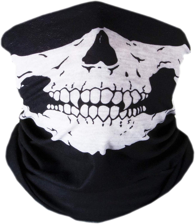 V by Vye | Graphic Print Neck Gaiter Bandana | Face Scarf Mask for Men & Women