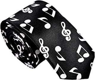 MATCH MUCH Skinny Neckties Novelty Ties