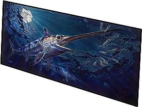 Caroline's Treasures Prince of Darkness Swordfish Indoor or Outdoor Runner Mat 28x58 doormats, Multicolor