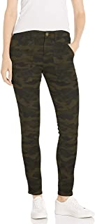 Marchio Amazon - Daily Ritual Stretch Cotton/Lyocell Zip-Pocket Utility Pant Donna