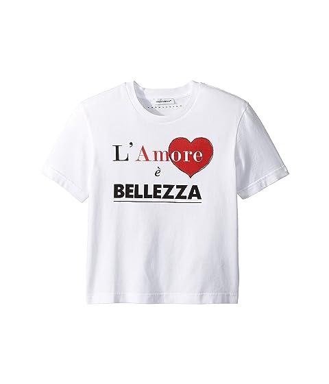 Dolce & Gabbana Kids Love & Bellezza T-Shirt (Toddler/Little Kids)