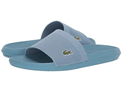 Lacoste Croco Slide 219 2 US CMA (Light Blue/Light Blue) Men