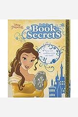 Disney Princess Belle's Book of Secrets Hardcover