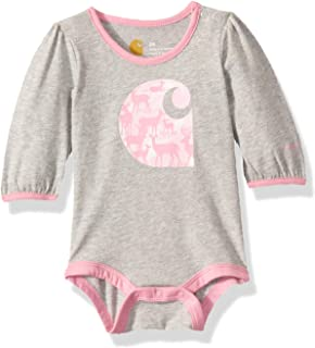 Carhartt Baby Girls Long Sleeve Bodysuit