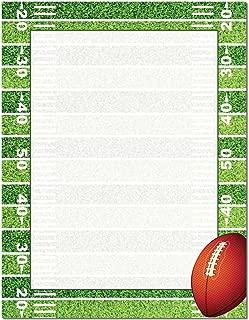 Football Field Letterhead Laser & Inkjet Printer Paper, 100 pack