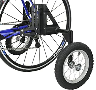 """CyclingDeal Adjustable Adult Bicycle Bike Stabilizers Training Wheels Fits 24"""" to 29"""" - Heavy Duty"""