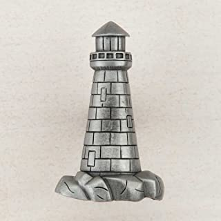 Acorn Manufacturing DP4PP Artisan Collection Lighthouse Knob44; Antique Pewter