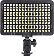 Andoer 176 قطعة LED محمولة فيديو استوديو التصوير الفوتوغرافي 5600K لكاميرا كانون نيكون بينتاكس أولمبس كاميرا دي اس ال ار