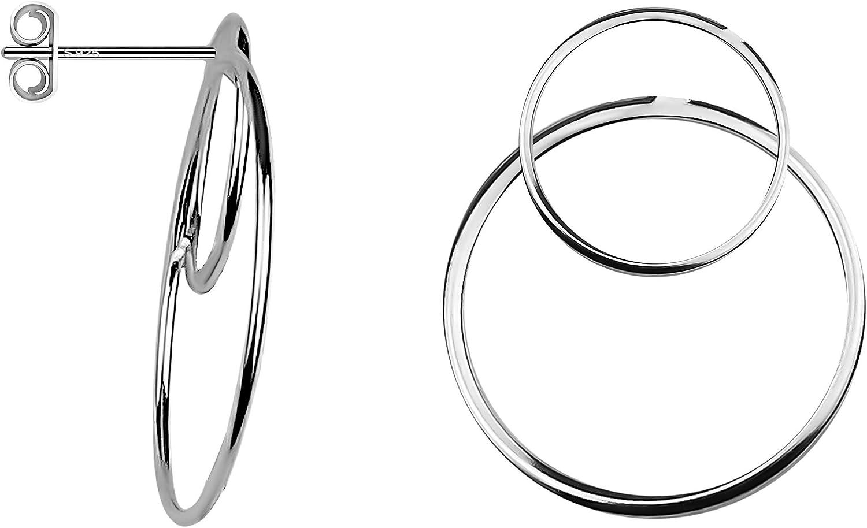 SOFIA MILANI - Limited price sale Women's Earrings Earri 925 Silver Circle Ranking TOP8 Dangle