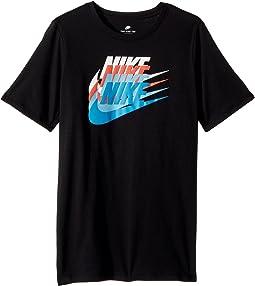Nike Kids NSW Sunset Futura T-Shirt (Little Kids/Big Kids)