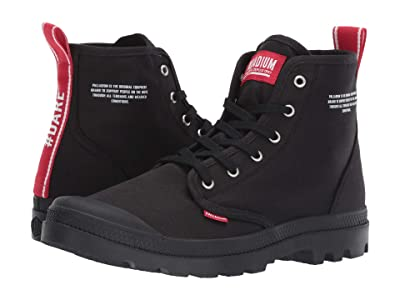 Palladium Pampa Hi Dare (Black) Shoes