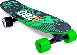 Electric Skateboard Longboard with Remote Control | UL2272 Certified/Motorized Powered Board C4-11.2 MPH High-Speed 7 Layers Maple Electric Longboard Best Gift for Adults