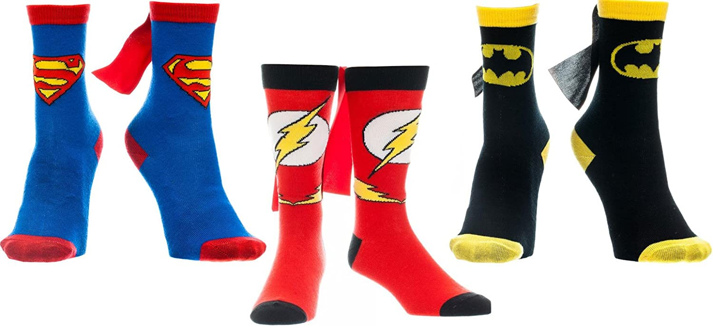 DC Albuquerque Mall Comics Superman Batman Flash Chicago Mall Caped Socks Youth Medium