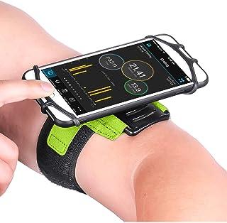 CoverKingz Universal Sportarmband für Smartphones von 4,0 – 7,0 Zoll, Armtasche mit Schlüsselfach, Handy Tasche Grün