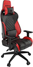 GAMDIAS Multi-Color RGB Gaming Chair High Back Headrest and Lumbar, Black/Red (Achilles E1 Black/Red)