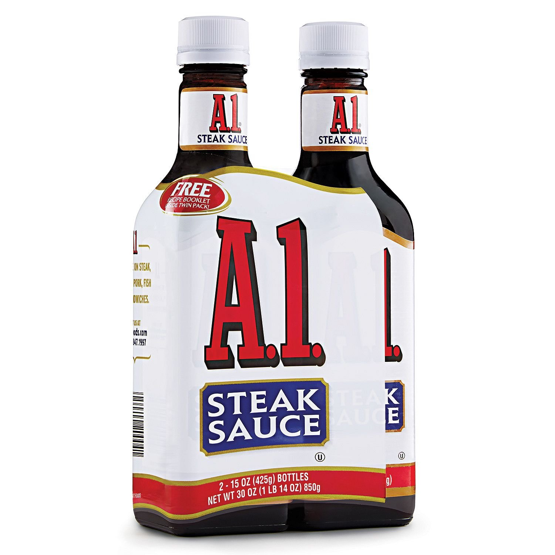 A-1 Steak Sauce 15 oz. pack 2 Max 83% OFF of ct. bottle Many popular brands