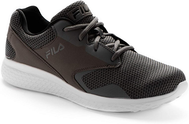 Fila Men's Layers 2.5 Knit Running chaussures gris in Taille 43