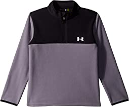 Solid Logo 1/4 Zip (Little Kids/Big Kids)