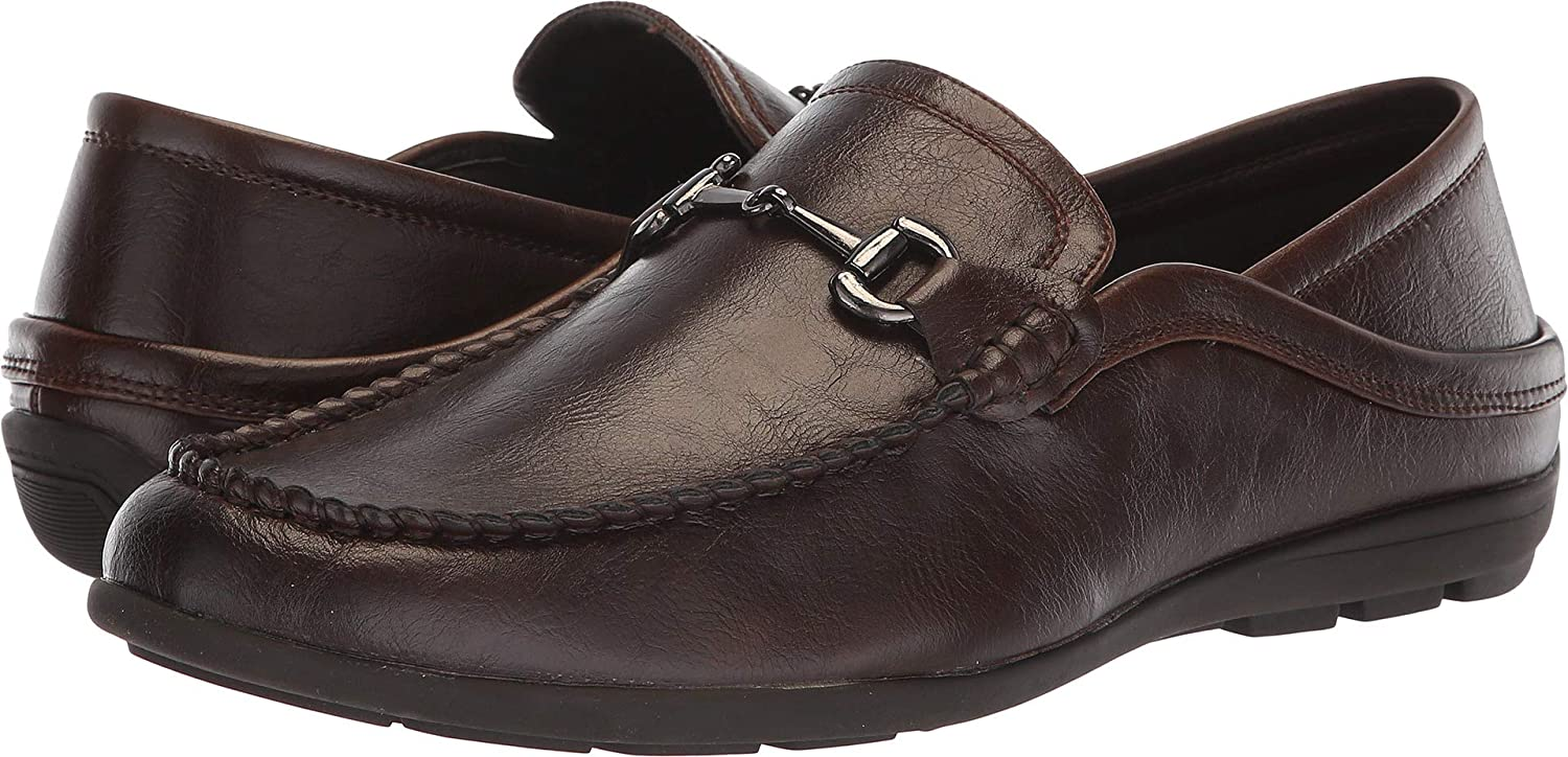 Van Heusen Men's Drive On Brown 10 D US