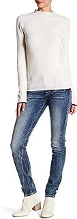 Womens Betty ES406 Rhinestone Skinny Leg Jeans Denim