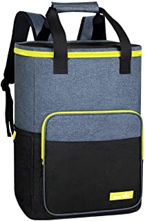 Hap Tim Cooler Backpack 30 Cans Insulated Backpack Cooler Lightweight Leak-Proof Soft Cooler Bag Large Capacity for Men Wo...