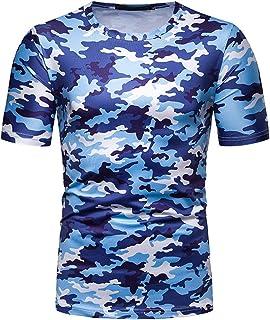 [クープ・ド・クール] 迷彩 Tシャツ スポーツウェア 半袖 定番 サバゲー 丸首 ミリタリー メンズ トレーニング 通気性 薄手