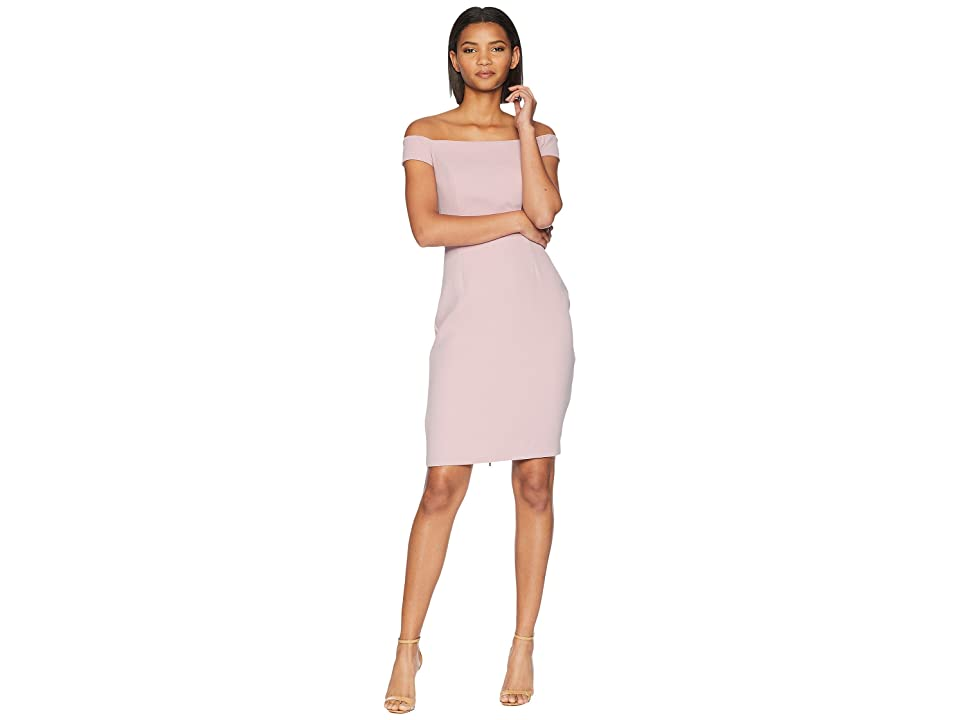 Adelyn Rae Veronique Woven Strapless Dress (Lilac) Women