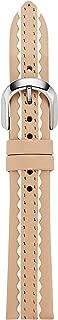 kate spade new york vachetta leather touchscreen smartwatch strap - KSS1603 Color: Beige