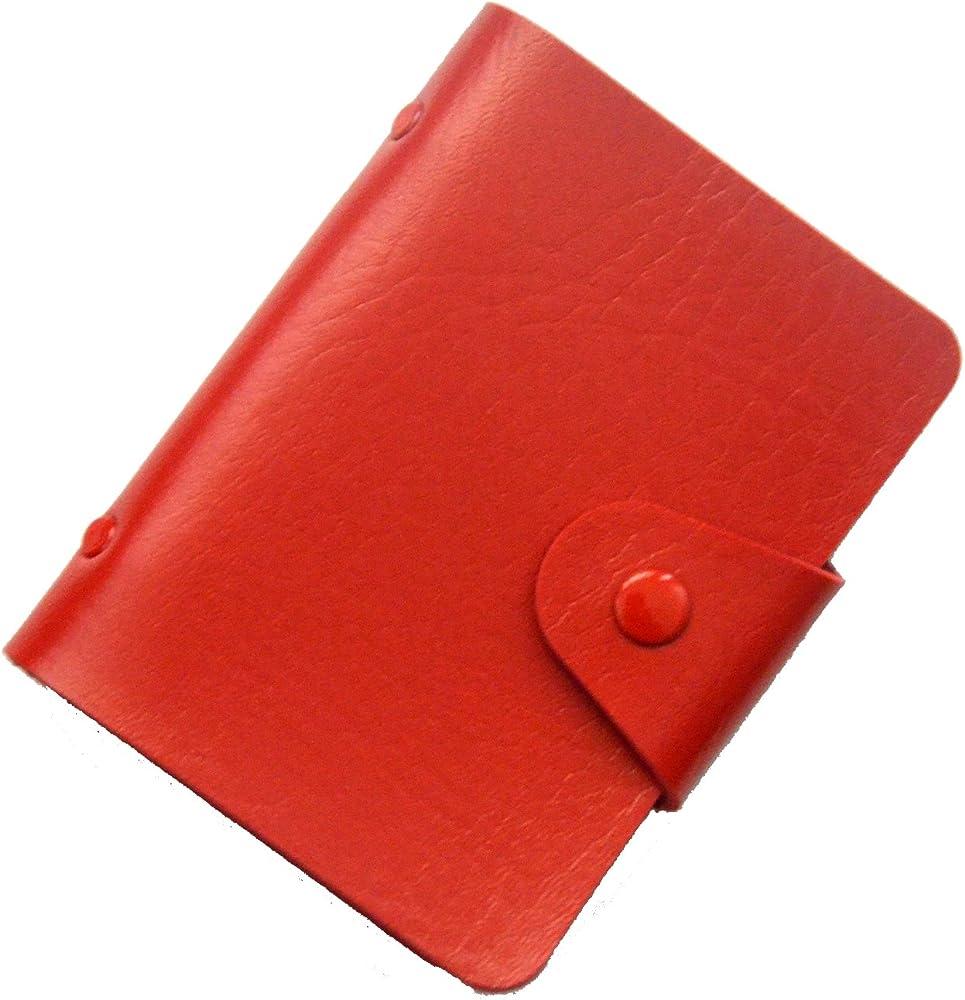 Brilliance co, porta carte di credito,  24 spazi, in pelle sintetica 10464030