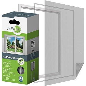 EasyULT Cinta para Reparar mosquiteras Fibra de Vidrio Cinta Adhesiva para Evitar Insectos de Mosquitos,con Sellado Adhesivo Fuerte(5 cm x 200 cm,Gris): Amazon.es: Bricolaje y herramientas