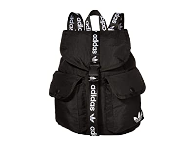 adidas Originals Originals Utility Mini Backpack (Black/White 1) Backpack Bags