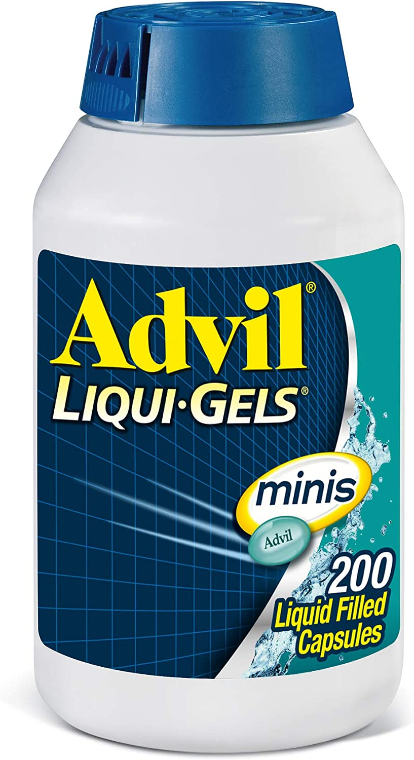 Advil Liqui-Gels Minis latest Pain Reliever Reducer Fever Ibuprofe Popular products and