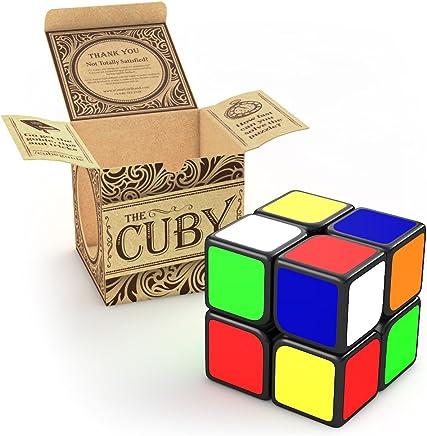 aGreatLife® Cubo de Velocidad Cuby 2x2 - El Juego de Cubo Que Agiliza tu Cerebro Puzzle - Inteligencia Mágico y Fácil Giro, Súper Duradero