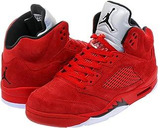 [ナイキ] AIR JORDAN 5 RETRO UNIVERSITY RED/BLACK/UNIVERSITY RED 【FLIGHT SUIT】【RED SUEDE】 [並行輸入品]