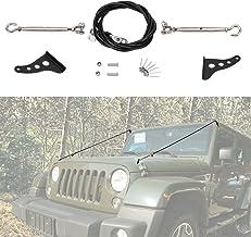 Alamor 2Pcs Fanale Anteriore In Ghisa Con Luce Di Segnalazione Grille-Montato Per Jeep Wrangler Jk 2007-2015