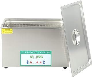 SEDOOM Limpiador Ultrasónico, Temporizador De Calentador De Limpieza De Baño De Tanque Ultrasónico Digital 30L DK-1027HTD,...