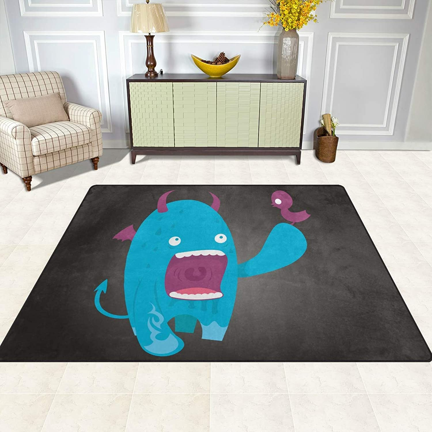 FAJRO Sweet Monster Rugs for entryway Doormat Area Rug Multipattern Door Mat shoes Scraper Home Dec Anti-Slip Indoor Outdoor