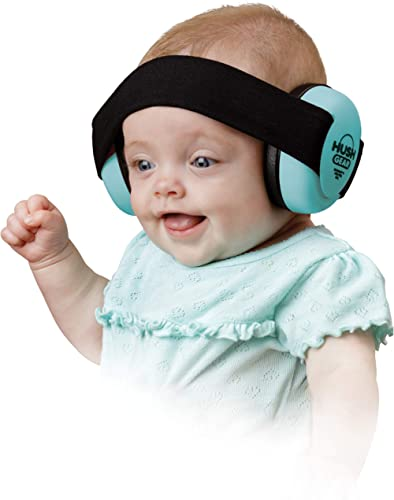 Hush Gear Baby Noise Cancelling Headphones for Babies Infant Ear Protection - 28.6db Sound Reduction Baby Ear Protect...