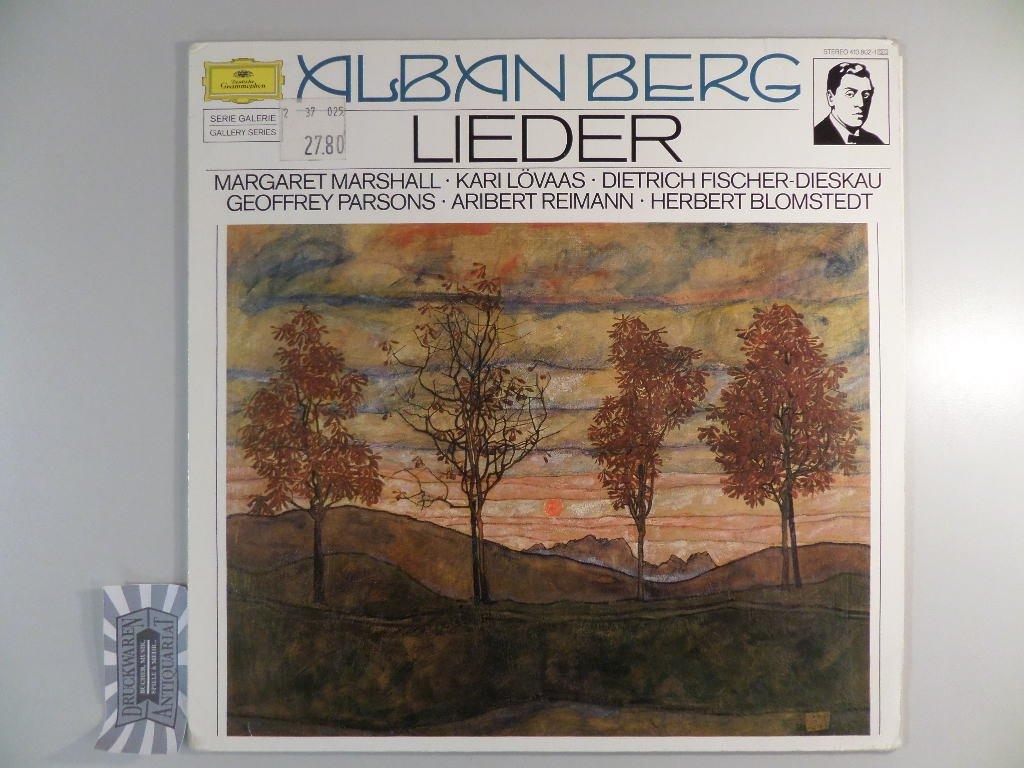 Alban Berg (1885-1935) Lieder [Vinyl-LP/413802-1].