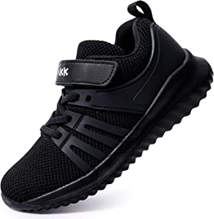 Boys Girls Running Shoes - Kids Tennis Breathable Lightweight Sneakers