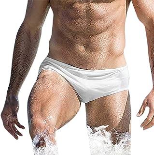 decda560ae87 Amazon.es: Blanco - Slips de natación / Ropa de baño: Ropa