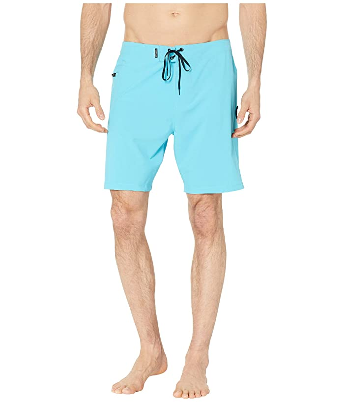 Hurley 18 Phantom One and Only Stretch Boardshorts (Blue Fury) Men
