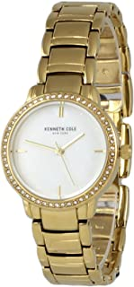 Kenneth Cole Womens Quartz Watch, Analog Display and Stainless Steel Strap KC50047002