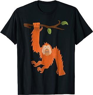 Orangutan T Shirt - Save The Orangutans Tee